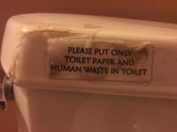 Very specific.